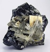 Pyrite Cubes with Spalerite and Quartz