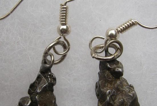 Meteorite Earrings For Sale