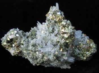 Chalcopyrite with Quartz -Bulgaria