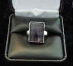 Fluorite Ring in Box