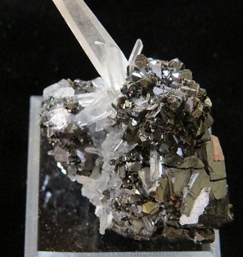 Sphalerite, Quartz and Galena- Bulgaria