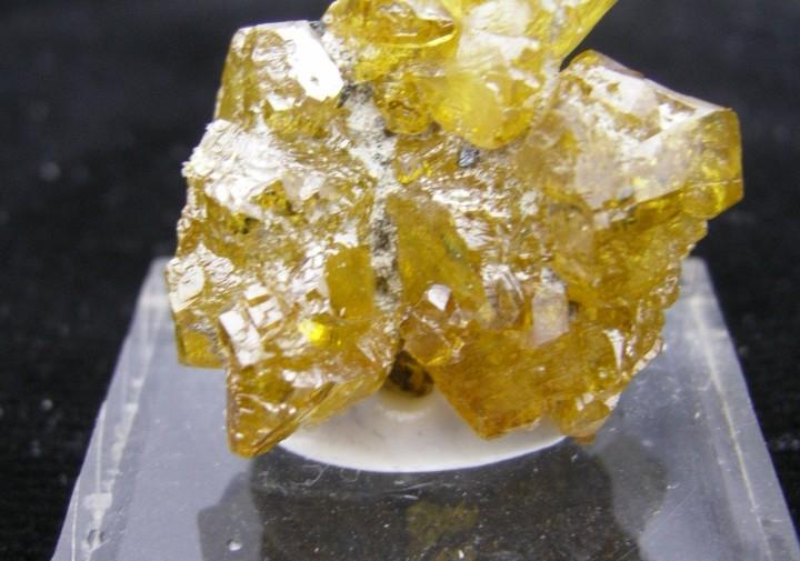 Golden Sphalerite Crystals - Balmat, NY - For Sale
