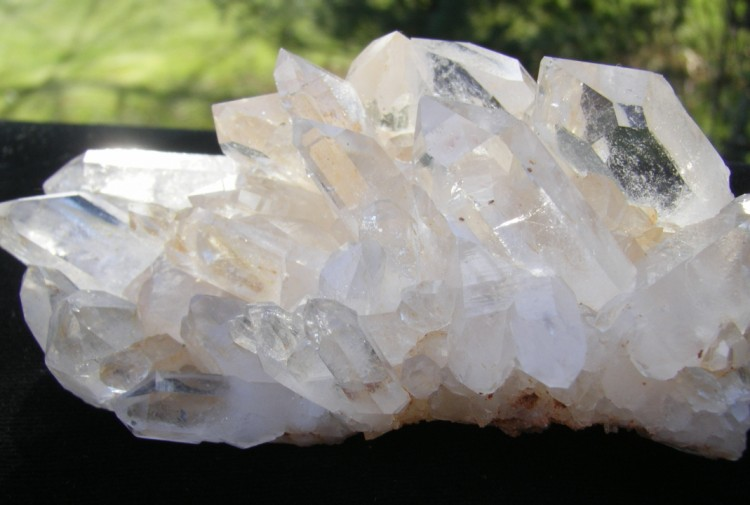 Quartz Crystal Cluster - Arkansas - 4""