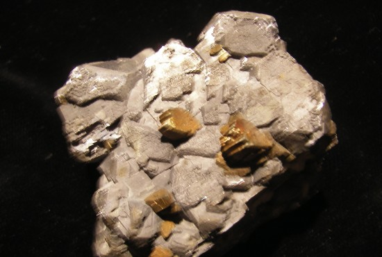Marcasite on Galena Crystals - Joplin - Missouri - For Sale