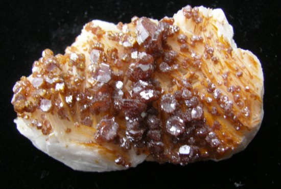 Vanadinite Crystals from Morocco