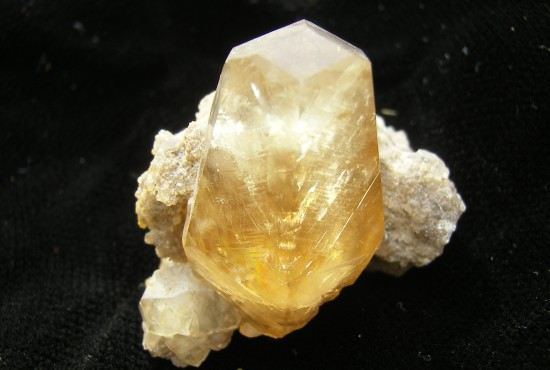 Calcite Crystal - Meshburger Quarry - Columbus - Indiana