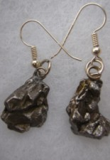Meteorite Earrings For Sale