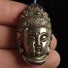 Pyrite Buddha Pendant For Sale
