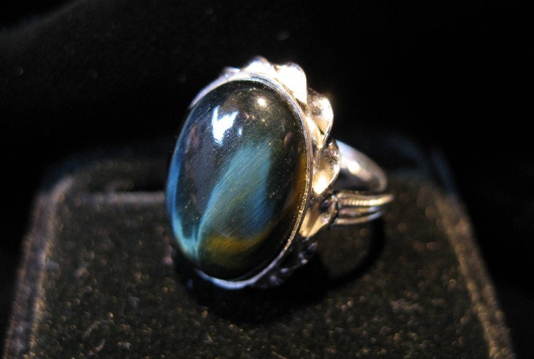 Tigereye Ring - Size 6 - For Sale - Fossils-Crystals.com