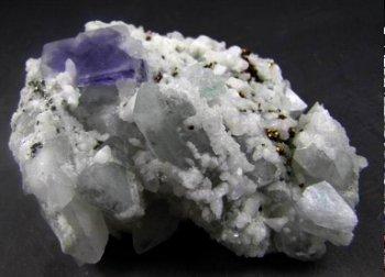 quartz and fluorite china_pe